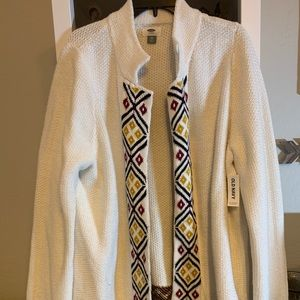 Old Navy NWT sweater cardigan XXL